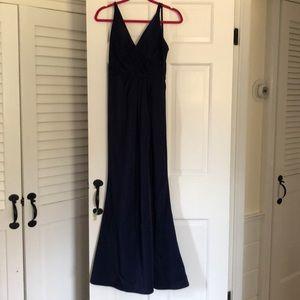 Faviana Navy Blue Prom Dress - Size 4